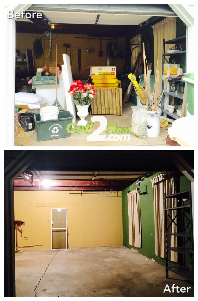 Junk Removal Before & After in Allentown PA